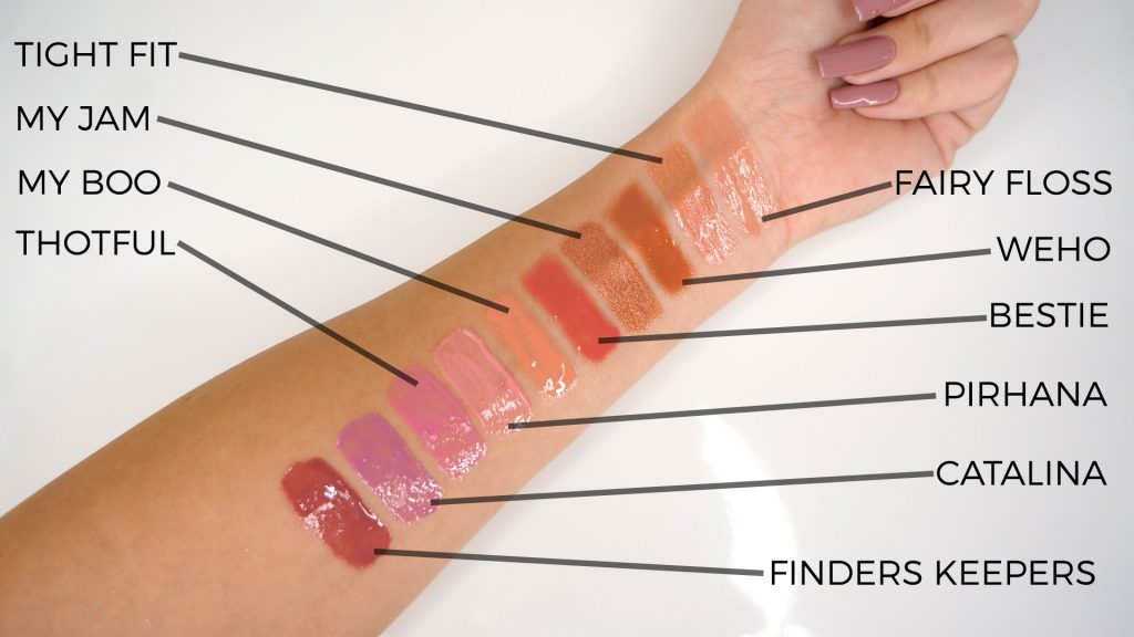 CP swatches new
