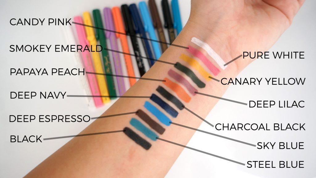 Sketch marker swatches